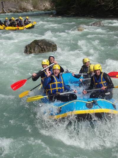 annecy rafting