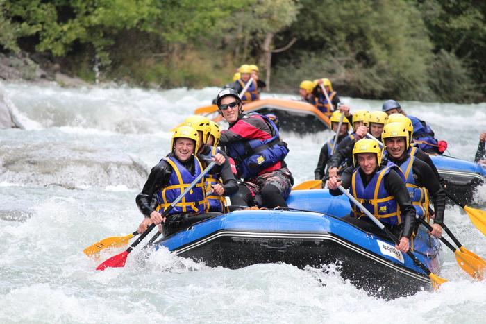 white water rafting annecy