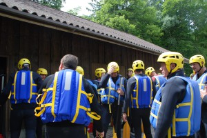 Corporate Event Rafting