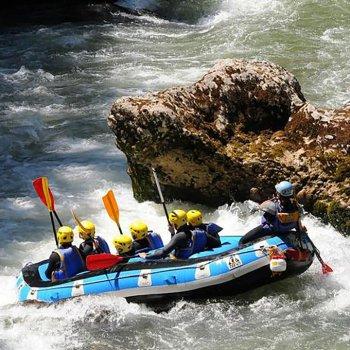 Rafting dranse haute savoie
