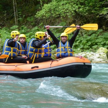 water rafting annecy dranse